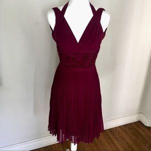 $145 Laundry Burgundy Dress Size 0